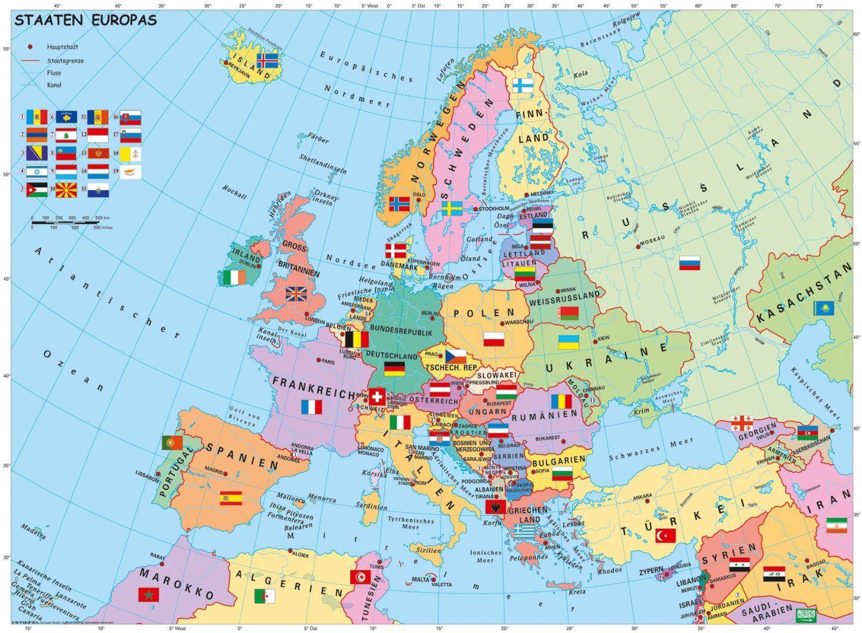 Store Bg Politicheska Karta Na Evropa Pzel